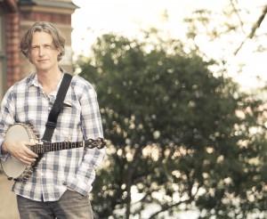 Dag med banjo